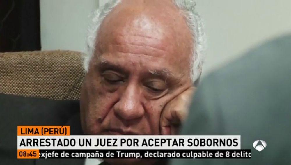 Arrestado juez peruano por aceptar sobornos en Lima