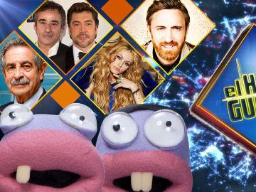 La próxima semana, Miguel Ángel Revilla, Javier Bardem y Eduard Fernández, David Guetta y Paulina Rubio se divertirán en 'El Hormiguero 3,0'