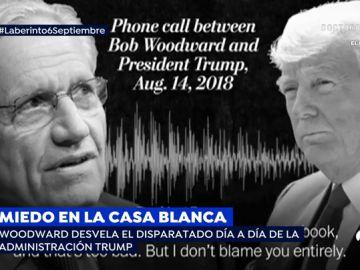 El libro de Woodward contra la administración de Trump