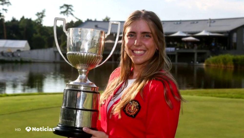 La golfista española Celia Barquín, asesinada en Iowa