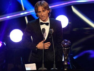 Luka Modric, mejor jugador del año