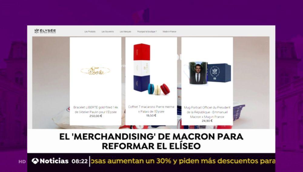 El 'merchandising' de Macron para reformar el Elíseo