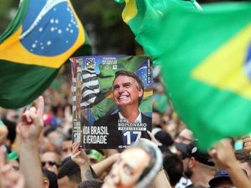 Noticias de la mañana (08-10-18) El ultraderechista Bolsonaro se queda a un paso de la Presidencia y va a segunda vuelta con Haddad