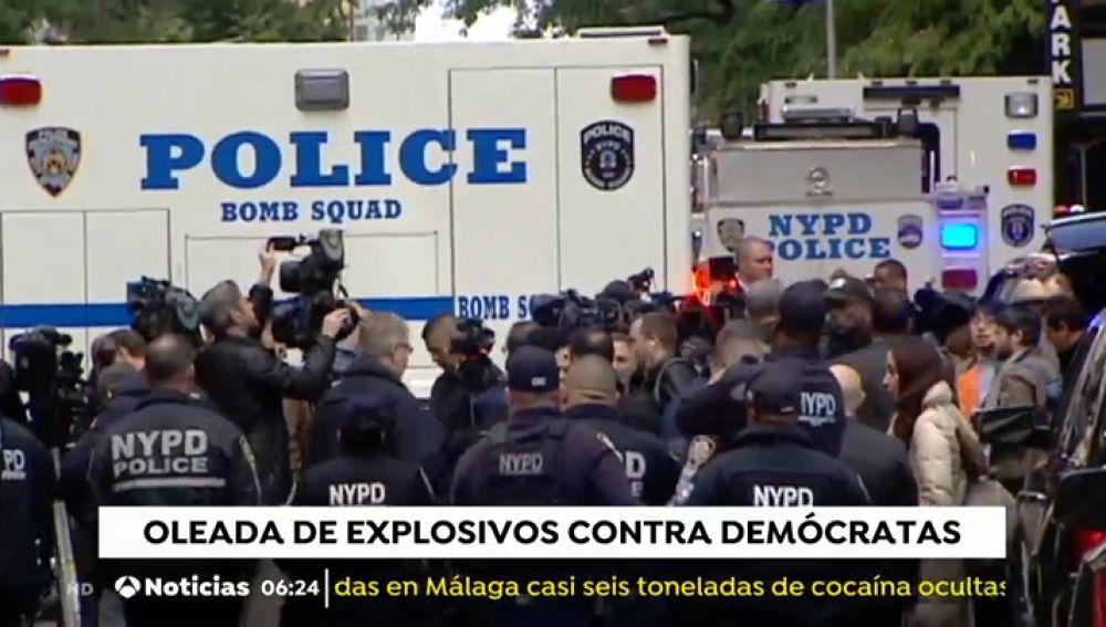 Obama, Hillary Clinton y la CNN, entre otros, reciben paquetes explosivos en Nueva York