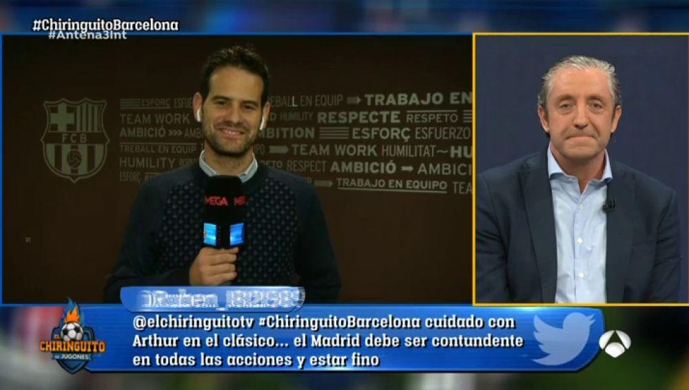 Euforia en la afición del Barça tras la victoria contra el Inter