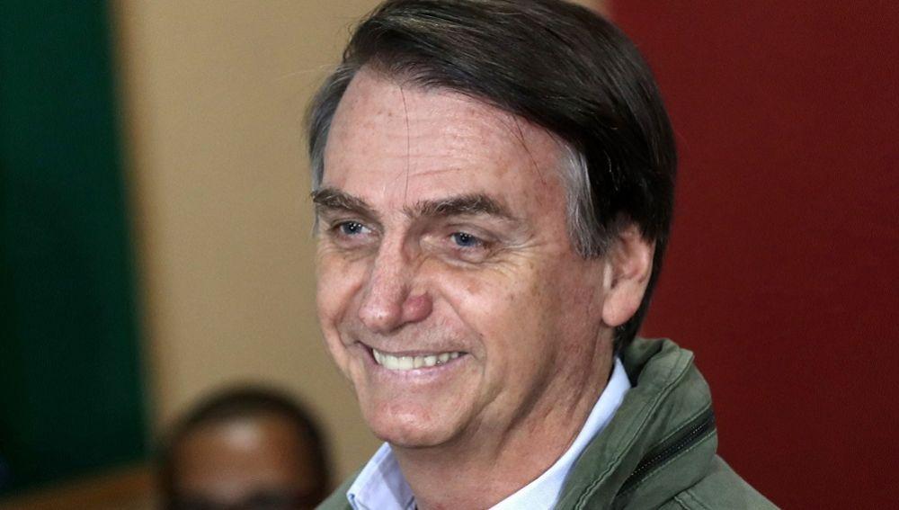 Imagen del presidente de Brasil, Jair Bolsonaro