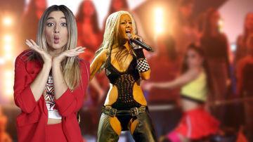 Mimi en Christina Aguilera