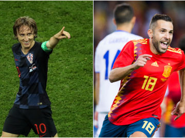 Croacia - España, partido de la Nations League