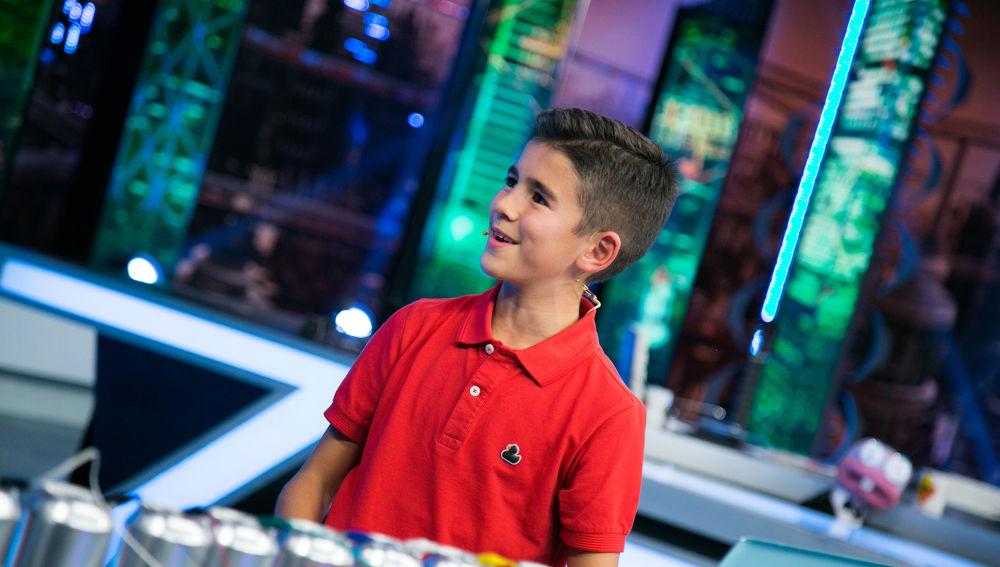 Descubre en 'El Hormiguero 3.0' al niño de 11 años que ha inventado más de 100 videojuegos propios