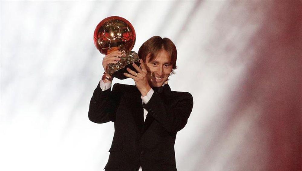 El jugador del Real Madrid, Luka Modric.