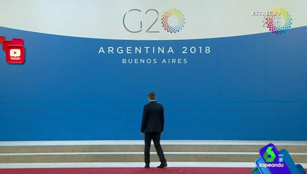 Solo y dando vueltas en círculo, el surrealista momento de Macri tras ser abandonado por Donald Trump