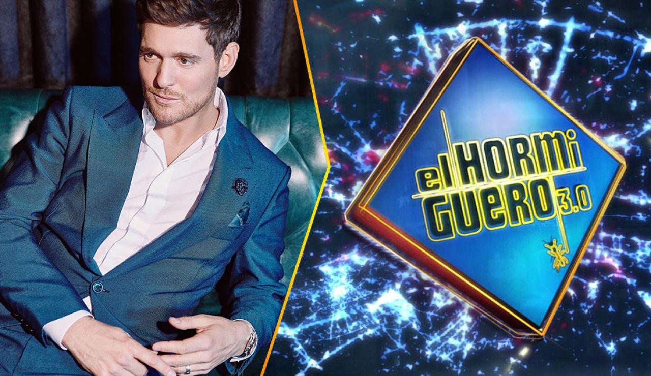El lunes arrancamos la semana en 'El Hormiguero 3.0' con la visita internacional del cantante canadiense Michael Bublé