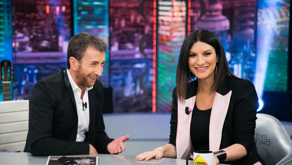 El Hormiguero: Laura Pausini (11-12-18)