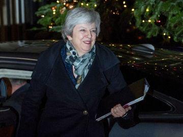La primera ministra británica, la conservadora Theresa May