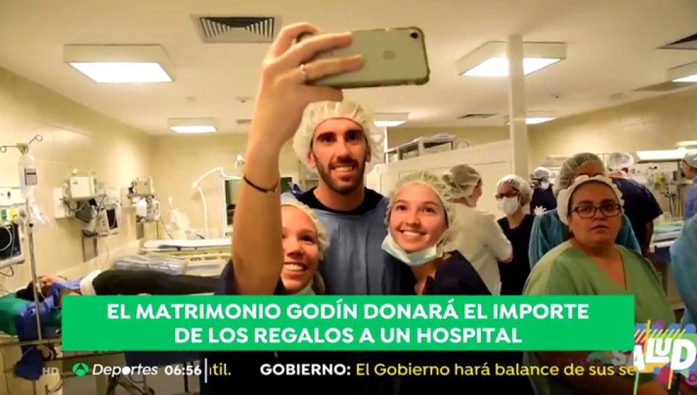La boda solidaria del futbolista Diego Godín y Sofía Herrera
