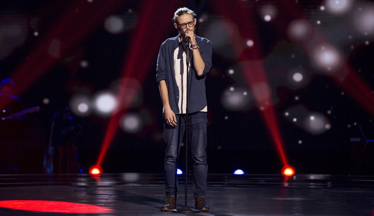 VÍDEO - Andrés Martín canta 'Dancing on my own' en las 'Audiciones a ciegas' de 'La Voz'