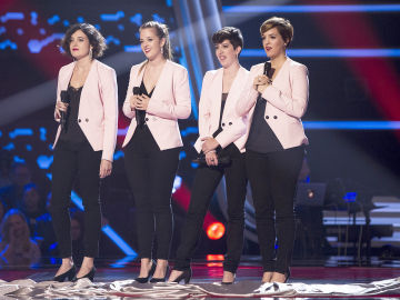 VÍDEO: Les Fourchettes canta 'And so it goes' en las 'Audiciones a ciegas' de 'La Voz'