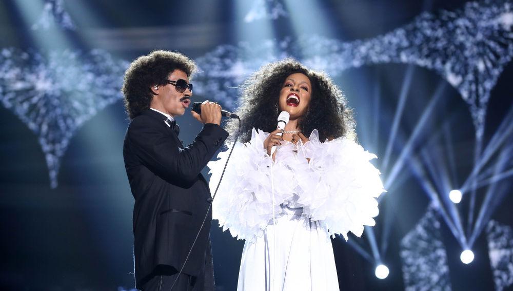 Carlos Baute y Ruth Lorenzo llevan la magia con 'Endless Love' en 'Tu cara me suena'