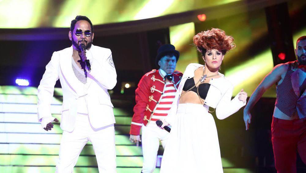 José Corbacho y Lucía Gil revolucionan el escenario de 'Tu cara me suena' con 'This is love'