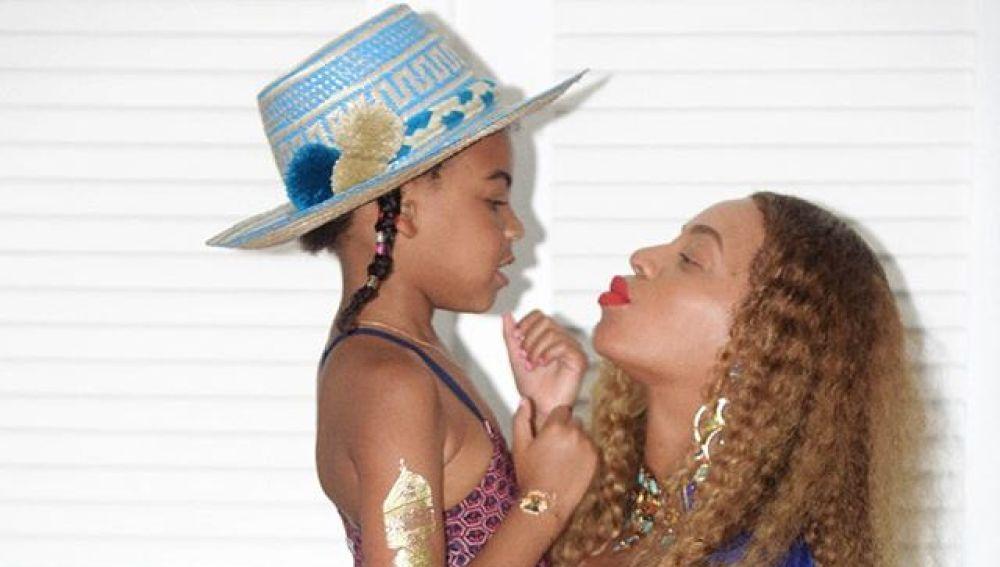 Blue Ivy y Beyoncé