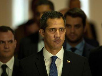 El presidente de Venezuela, Juan Guaidó.