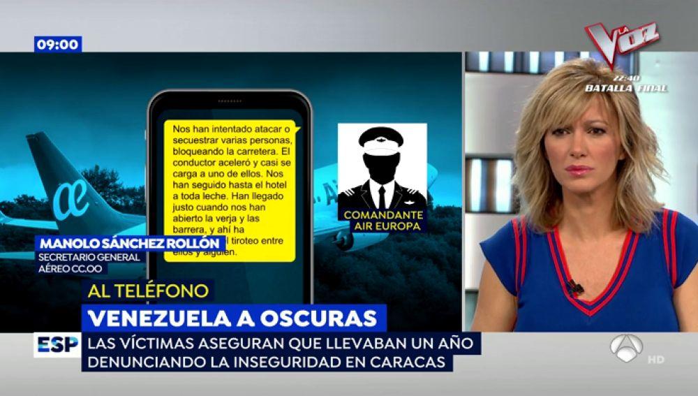 Crisis en Venezuela con Air Europa.
