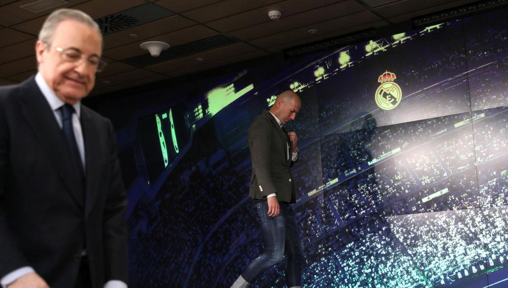 Florentino y Zidane