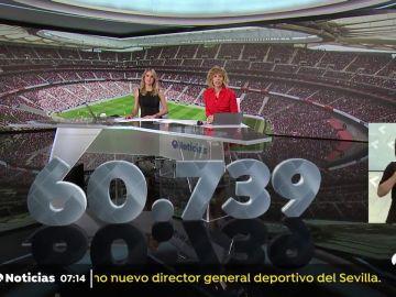 Récord mundial del fútbol femenino, en el Wanda Metropolitano
