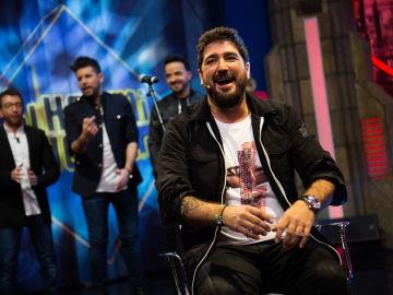 Antonio Orozco cuenta en 'El Hormiguero 3.0' cómo Luis Fonsi le cambió la vida