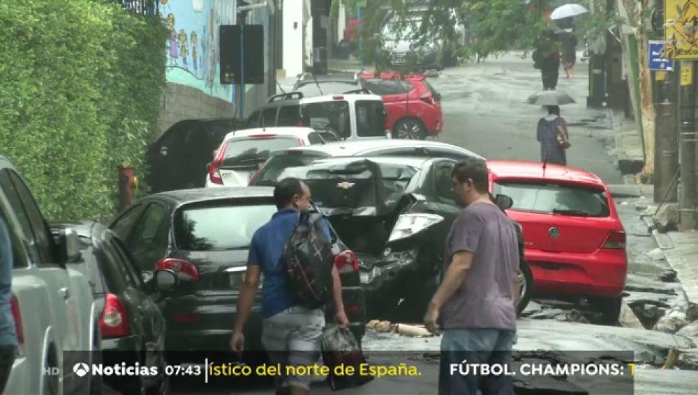 Estado de emergencia en Río de Janeiro por el fuerte temporal