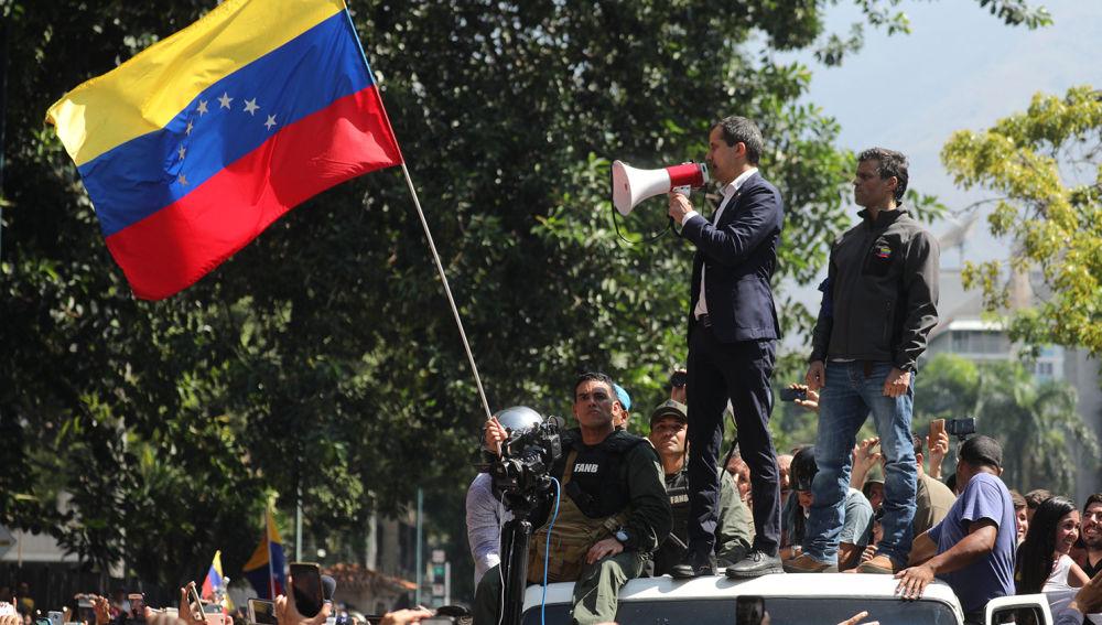 laSexta Noticias (30-04-19) Alzamiento contra Maduro en Venezuela