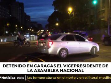 El vicepresidente de la Asamblea Nacional de Venezuela, detenido en Caracas