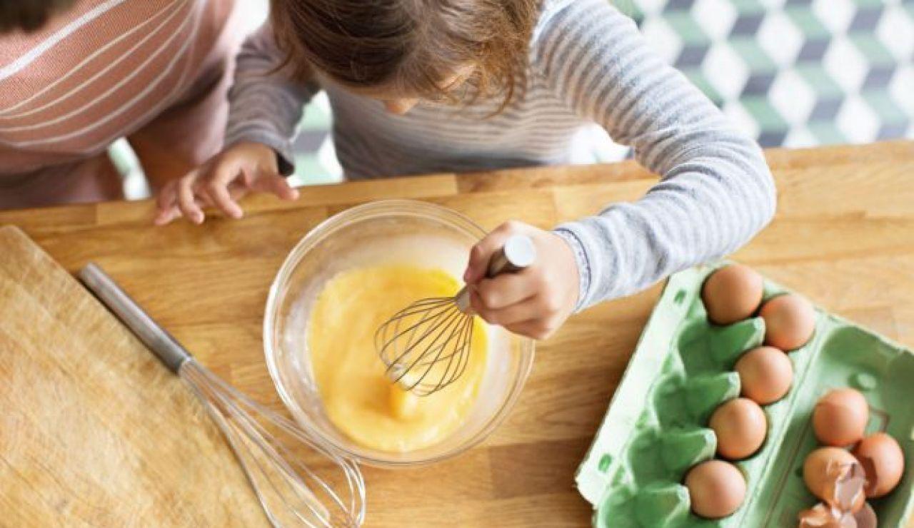 Niños cocina