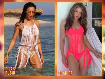 El presunto plagio de Pilar Rubio a Shakira, con Josie en 'Zapeando'