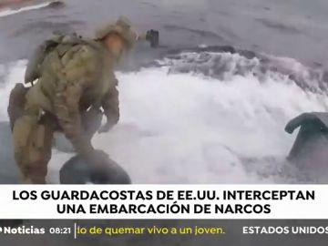 La increíble operación contra el narcotráfico en Estados Unidos: Interceptan 8 toneladas de cocaína a un submarino en altamar