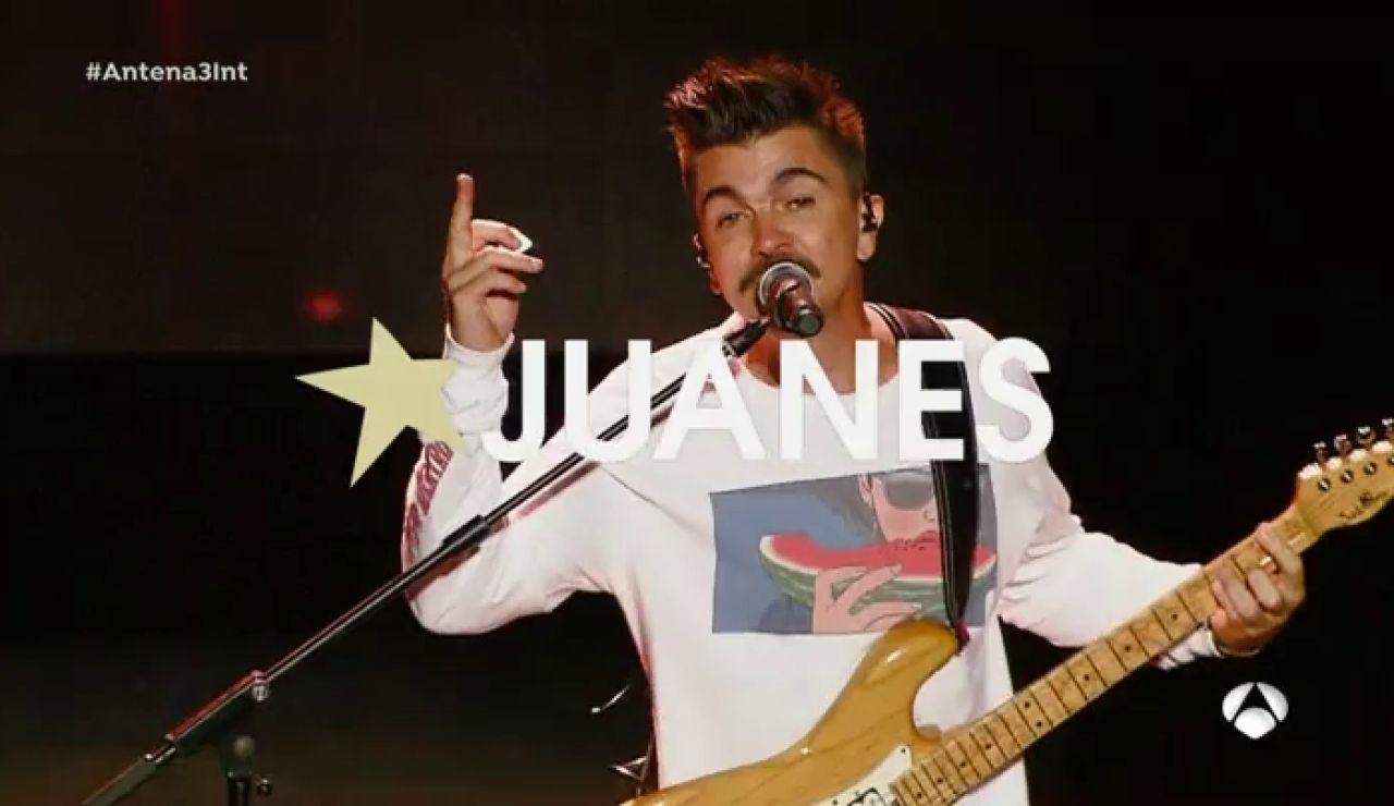 Juanes, puro 'fuego' sobre el escenario de 'Starlite Festival'