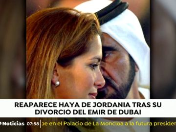La princesa de Jordania reaparece en Londres