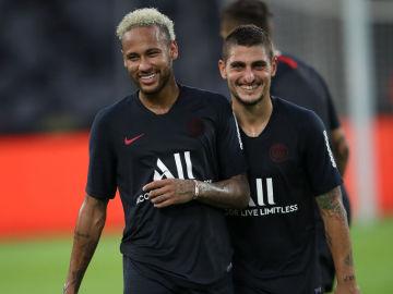 Deportes Antena 3 (24-08-19) La relación PSG-Neymar mejora ante la perspectiva de que se quede