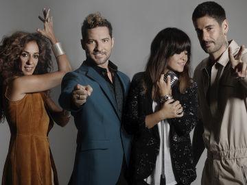 Rosario, David Bisbal, Vanesa Martín y Melendi, coaches de 'La Voz Kids'