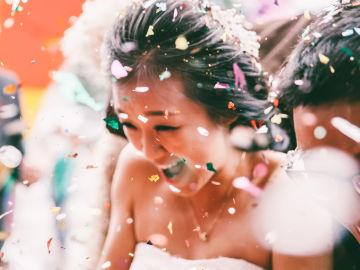 Novia en boda china