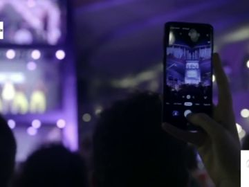 El primer concierto vertical y con varios pisos pensado para la grabación con smartphone