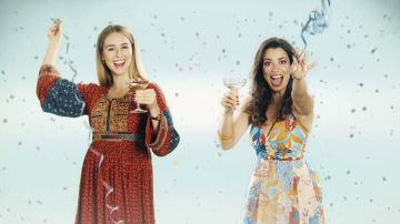 Luisita y Amelia en la nueva cabecera de 'Amar es para siempre'