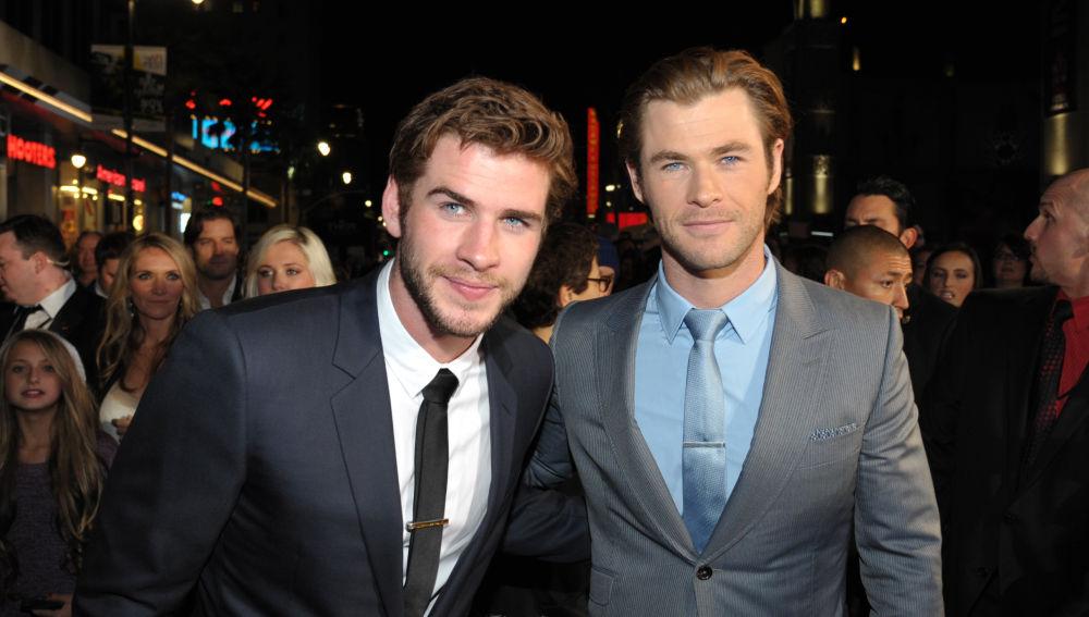 Chris Hemsworth y su hermano Liam Hemsworth