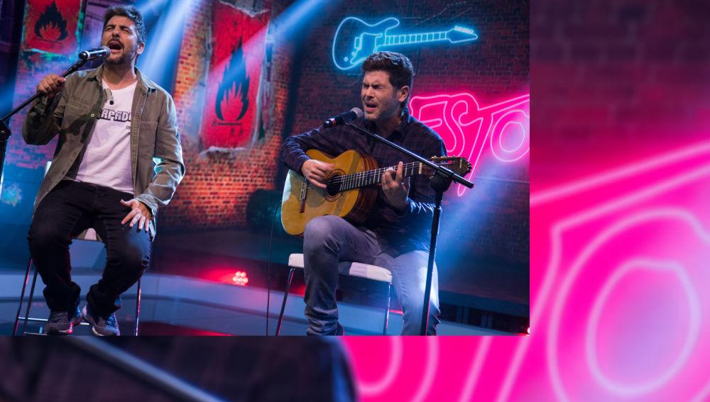 Estopa estrena 'Fuego' en 'El Hormiguero 3.0' y canta en directo