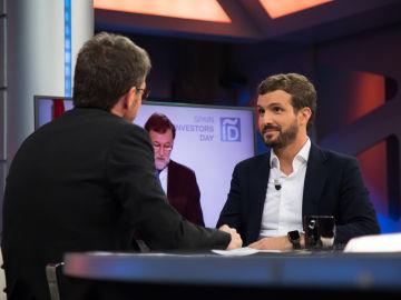 11 titulares que ha dejado la entrevista de Pablo Casado en 'El Hormiguero 3.0'