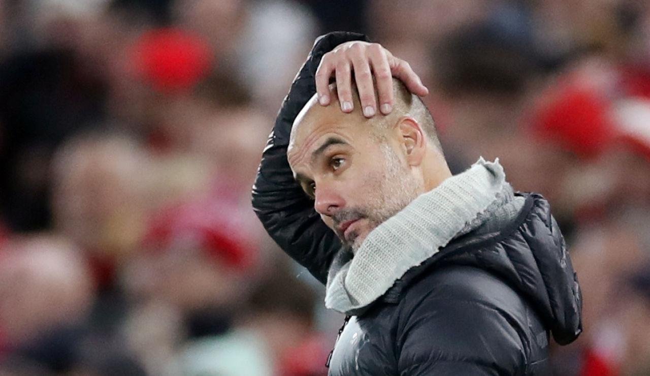 Guardiola, ante el Liverpool