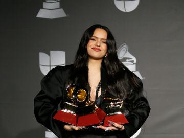 Rosalía, triunfadora en los Grammys