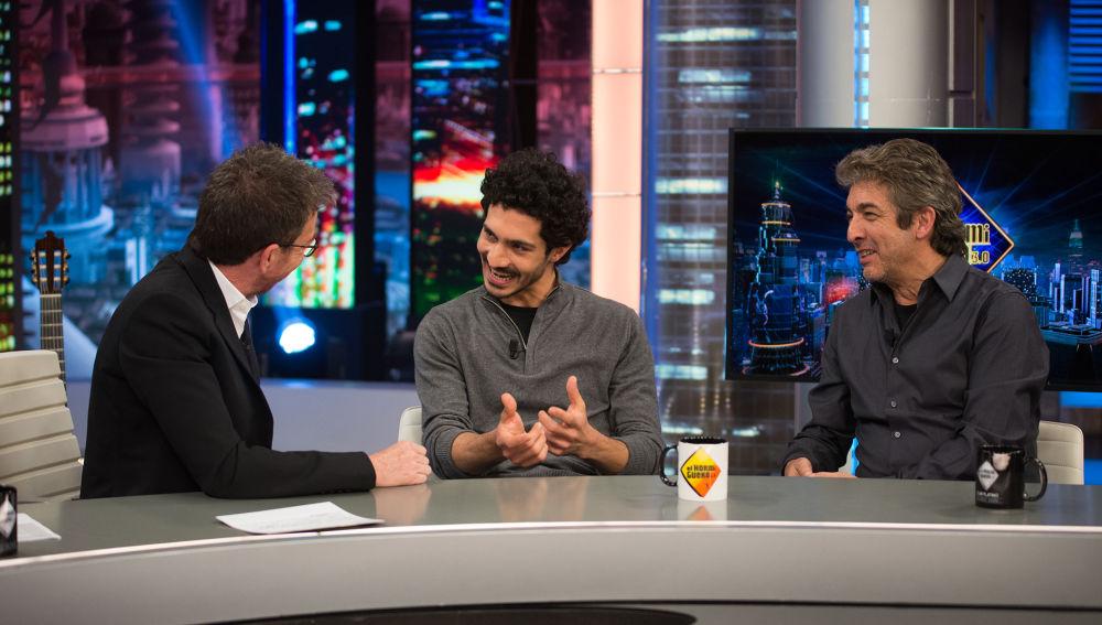 Chino Darín y Ricardo Darín confiesan en 'El Hormiguero 3.0' cómo ha sido rodar juntos por primera vez