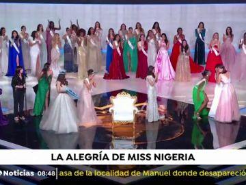 Esta es la reacción de Miss Nigeria al conocer el triunfo de Jamaica en Miss Mundo