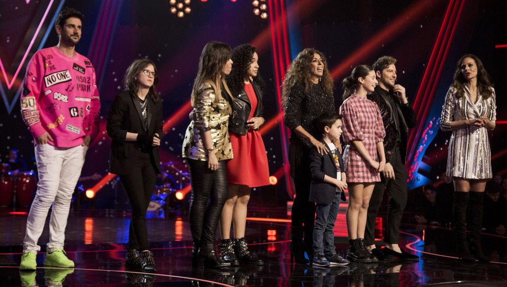 Finalistas La Voz Kids